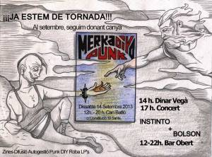 concierto merkadiyo punk 14/09/2013